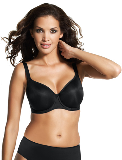 Fantasie Smoothing Balcony Bra 4520 - Black