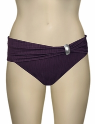 Fantasie St Kitts Gathered Fold Brief FS5794 - Loganberry