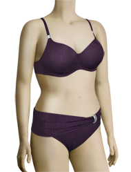 Fantasie St Kitts Underwire Padded Balcony Bikini Top FS5792 - Loganberry