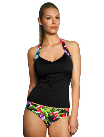 Freya Calypso Underwire Tankini Top AS3135 - Black
