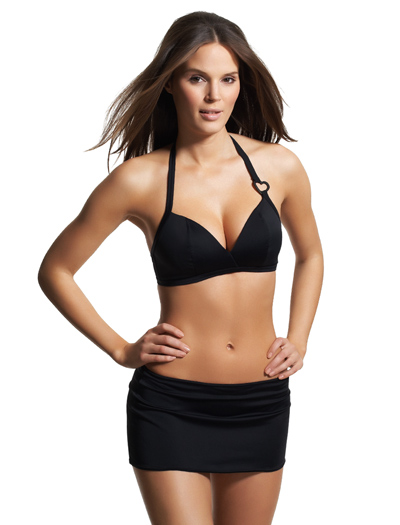 Freya Eclipse Soft Triangle Bikini Top 9566 - Black
