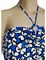 Freya Madame Butterfly Underwire Bandeau Tankini Top AS3493 - Cobalt3