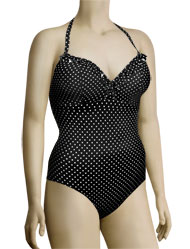 Freya Pier Halter One Piece Swimsuit 3009 - Black