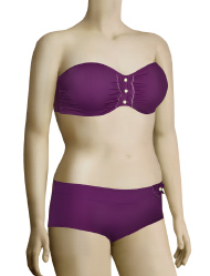 Freya Revolution Underwire Bandeau Bikini Top AS3201 - Amethyst