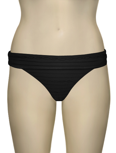 Freya Showboat Fold Brief AS3564 - Black