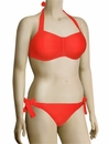 Freya Showboat Underwire Bandeau Bikini Top AS3561 - Lipstick
