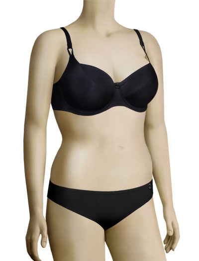 Freya Soda Underwire Balcony Bikini Top 9660/9661 - Black