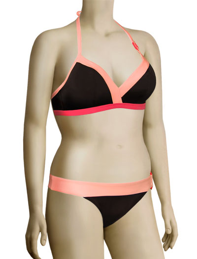 Freya Vodkatini Soft Triangle Bikini Top 9843 - Cocoa