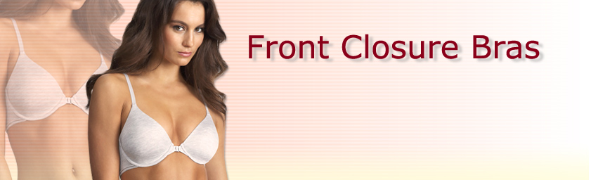 Front Closure Bras