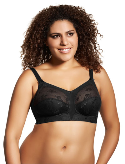 Goddess Alice Soft Cup Bra 6040 - Black