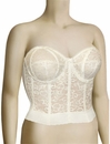 Goddess Bridal Lace Bustier 689 - Ivory