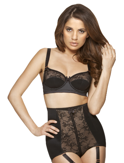 Gossard Retrolution Waist Cincher Short 8514 - Black