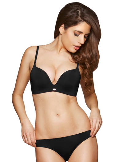 Gossard Super Smooth Non Wired Plunge Bra 8811 - Black