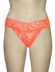 Hanky Panky Original Signature Lace Thong 4811 - Punch