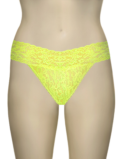 Hanky Panky Original Signature Lace Thong 4811 - Glowstick