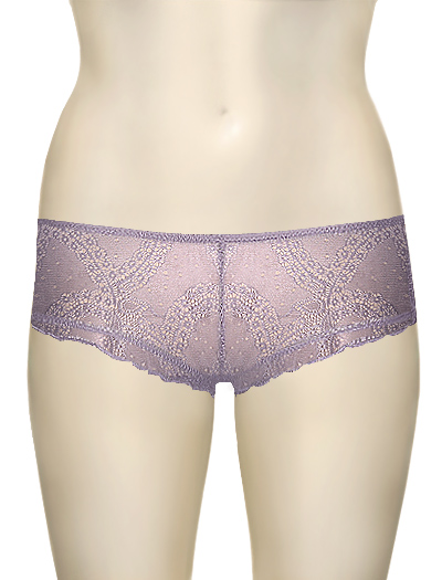 Honeydew At The Ballet Lace Boyshort 20184 - Fog