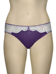 Hotmilk A Little Drama Bikini Brief AD-BK - Purple