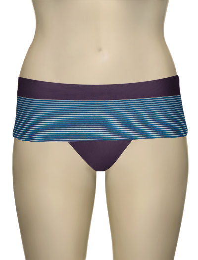 Huit Alice en Goguette Bandeau Brief 302 - Blueberry