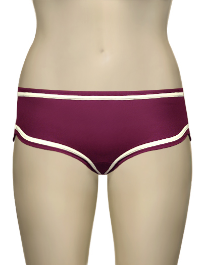 Huit Lucky! Bikini Shorty 308 - Cranberry