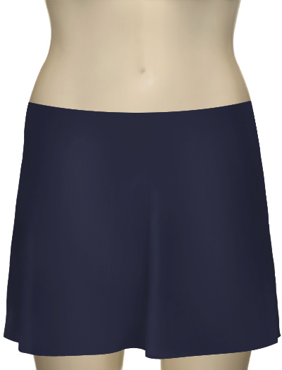 Karla Colletto Basic A-Line Skirt BA-C11 - Lake
