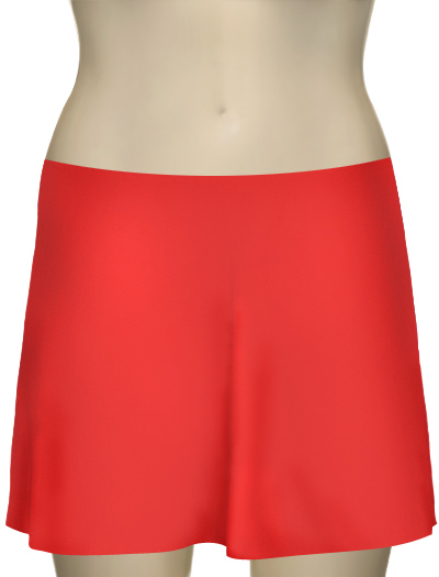 Karla Colletto Basic A-Line Skirt BA-C11 - Papaya