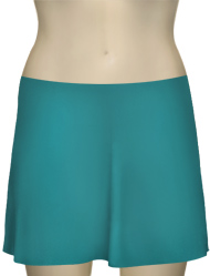 Karla Colletto Basic A-Line Skirt BA-C11 - Caribbean