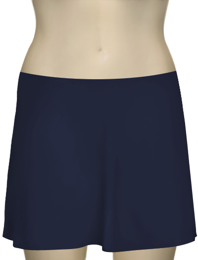 Karla Colletto Basic A-Line Skirt BA-C11 - Navy