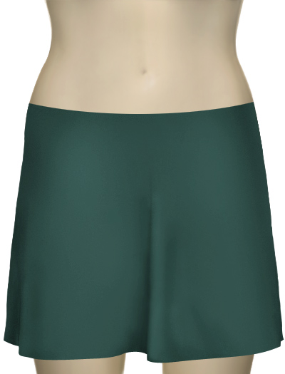 Karla Colletto Basic A-Line Skirt BA-C11 - Pine