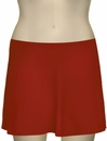 Karla Colletto Basic A-Line Skirt BA-C11 - Cherry