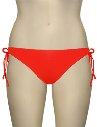 L-Space Sweet & Chic Dandy Keyhole Full Cut Bikini Bottom SC21F13 - Paprika