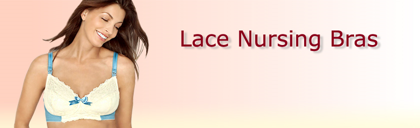 Lace Nursing Bras