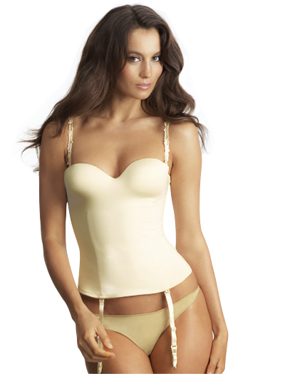 Le Mystere Bridal Bustier 2355 - Ivory