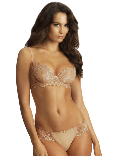 Le Mystere Isabella All Over Lace Bra 2535 - Natural