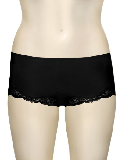 Le Mystere Lace Boy Leg 4465 - Black