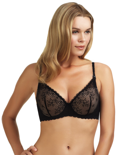 Le Mystere Sexy Mama Nursing Bra 163 - Black/Natural