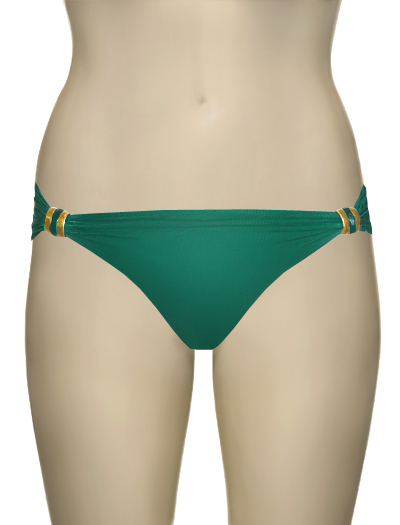 Lenny Gem Touch Adjustable American Bijoux Bikini Bottom 106A - Capri