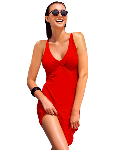 Lise Charmel Antigel L'Estivale Chic Beach Dress ESA1016 - Rouge