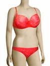 Lise Charmel Antigel La Miss Dentelle Balconette Bikini Top FBA3506 - Orange