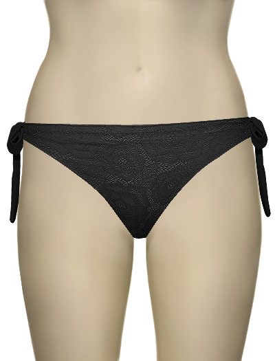 Lise Charmel Antigel La Miss Dentelle Tie Side Bikini Bottom EBA0106 - Noir