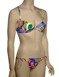 Lise Charmel Antigel La Nomad Queen Padded Push Bikini EBA4355 - Tribal Print