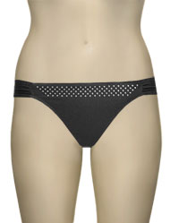 Lise Charmel Antigel La Rocking Beauty High Leg Brief EBA0715 - Black