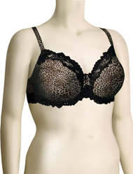 Lunaire Barbados Mesh Demi Bra 15211 - Animal Print