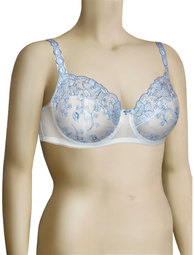 Lunaire Cortina Underwired Balcony Bra 50851 - Blue