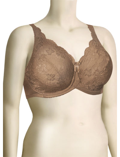 Lunaire Piccadilly Full Coverage Bra 10711 - Toast