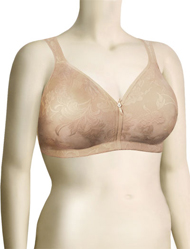 Lunaire Versailles Full Coverage Seamless Wire Free Bra 13214 - Nude
