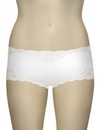 Mary Green Hip Hugger Boyshorts C32 - White