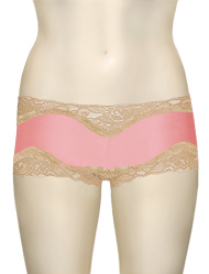 Mary Green Hip Hugger Boyshorts C32 - Pink / Taffy