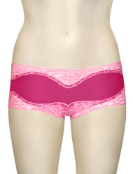 Mary Green Hip Hugger Boyshorts C32 - Pink / Coral