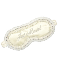 Mary Green Just Married Silk Eye Mask SB86 - Just Married