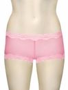 Mary Green Silk Gauze Hip Hugger Boyshort LT8 - Pink Panther